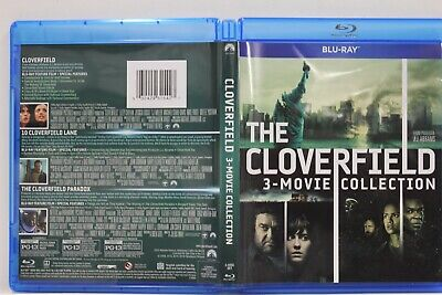 Cloverfield: 3-Movie Collection (Blu-Ray,3-Disc Set) FREE Shipping Paradox Lane
