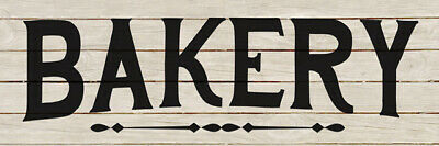 Bakery Kitchen Cooking Chic White Farmhouse Wood Sign Wall Décor B3-06180028132