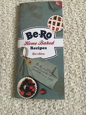 BRAND NEW Be-Ro Home Baked Recipe Book 41st Edition. FREE POSTAGE