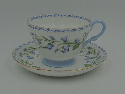 Vintage Shelley Harebell Cup & Saucer Henley 13544 Ex. Condition