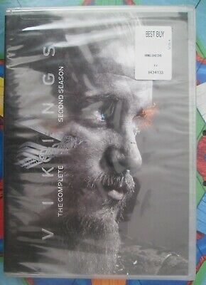 VIKINGS - THE COMPLETE SECOND SEASON DVD 2 two HISTORY CH *FACTORY SEALED NEW*