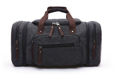 Laggage bag Leather Travel Bag Carry On Luggage For Men Duffel Canvas Travel bag