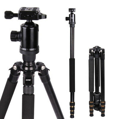 ZOMEI Z688 Portable Aluminum Tripod Monopod Ball Pan Head for DSLR Camera Striki