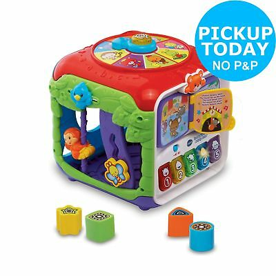 VTech Sort & Discover Activity Cube 4 Songs 10 Melodies 9+ Months