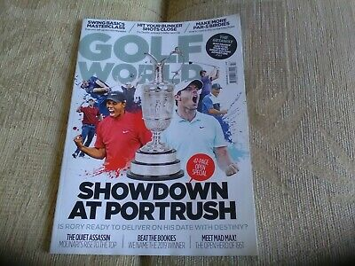 Golf World Magazine - The Open Issue  July 2019