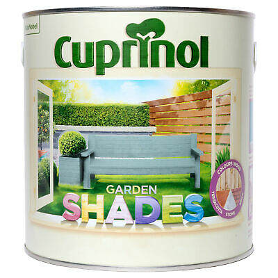 Cuprinol Garden Shades Paint - Furniture Sheds Fences -All Colours FREE DELIVERY