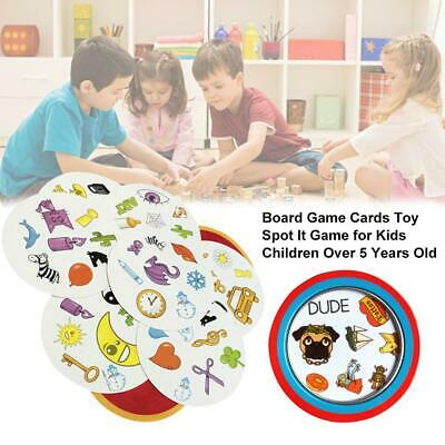 Find It Cards Board Spot It Kids Game Dobble For Family Gathering Party Toys