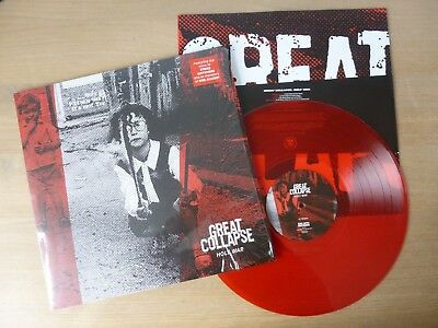 Great Collapse ‎– Holy War  GER 2015  LP  RED  Vinyl  mint-