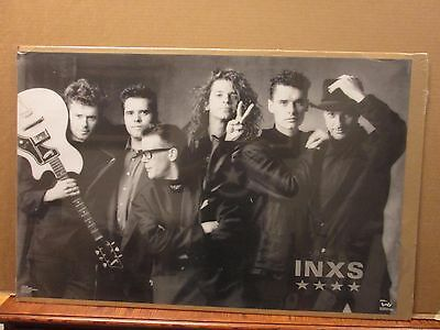 Vintage INXS Kick poster music rock and roll 11164
