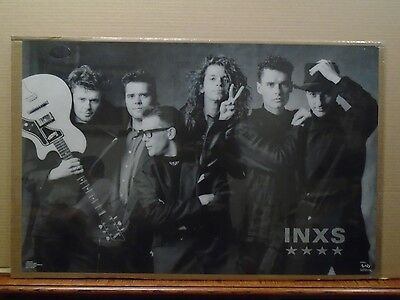 Vintage INXS Kick poster music rock and roll 11131