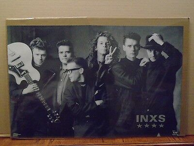 Vintage INXS Kick poster music rock and roll 11132