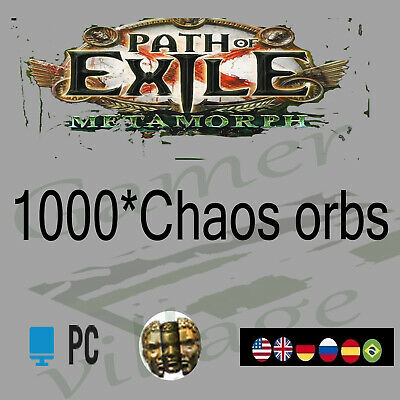 POE Chaos Orb Path of Exile 200 x Currency Legion League Softcore SC 200C Item