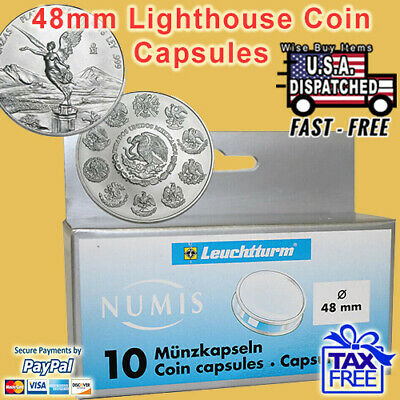 Lighthouse QUADRUM XL Large Square Coin Capsule ONE CAPSULE ONLY 44mm