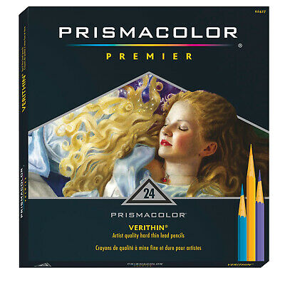 Sanford 2427 Prismacolor Verithin E731 Premier Pencil 24-Color Set