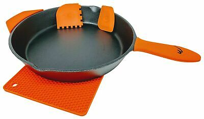 12 Inch Pre Seasoned Cast Iron Skillet Classic Frying Pan with Assist Handle....