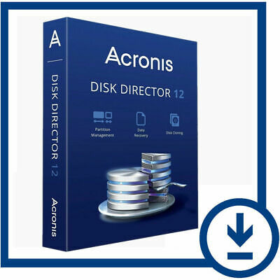 Acronis Disk Director 12 - Lifetime License Key - Email Delivery Only