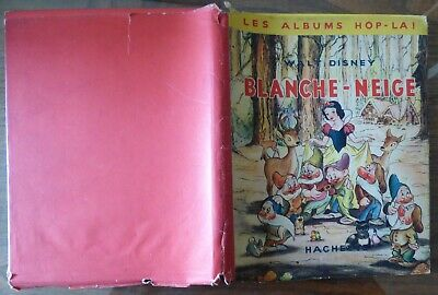 Album Hop - L A ! Hachette Walt Disney  Pop Up  Blanche Neige  1949