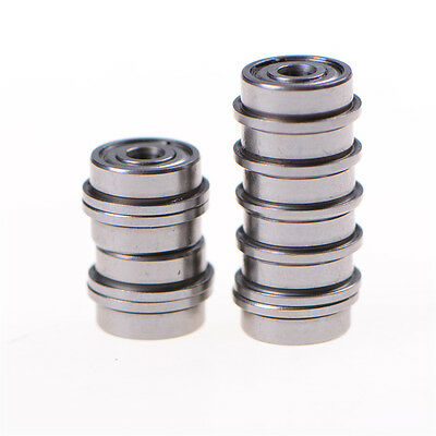 10Pcs F623ZZ Mini Metal Double Shielded Flanged Ball Bearings For 3D printerLTA