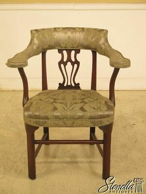 L43942EC: KITTINGER CW-43 Colonial Williamsburg Mahogany Smoking Chair