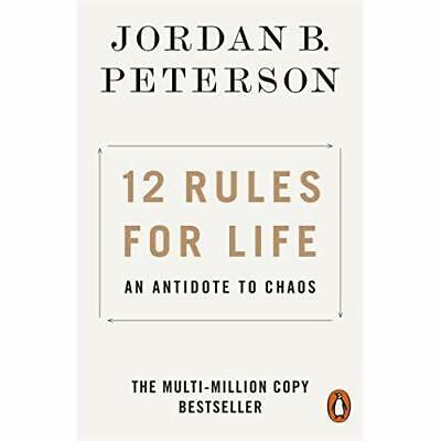 12 Rules for Life: An Antidote to Chaos - Paperback / softback NEW Peterson, Jor