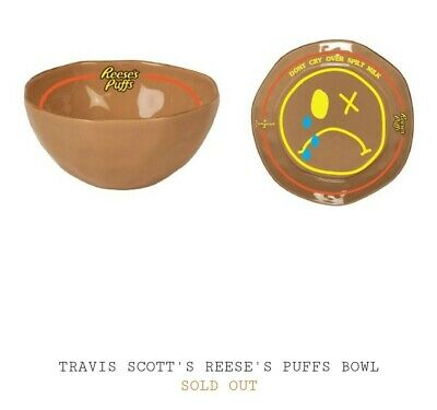 Travis Scott Reeses Puff Cereal - Spoon and Bowl *Order Confirmed