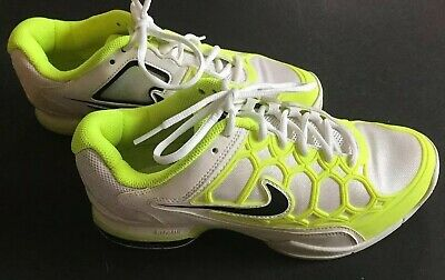 best service bf79f b87d8 Nike Womens Sz 9 Zoom 2K12 Lunarlon Training Shoes Neon Yellow And White