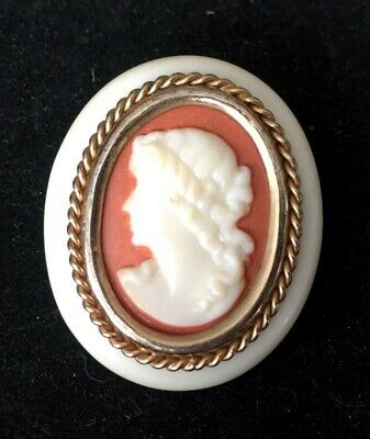 Vtg ANTIQUE Brooch Pin Art Deco or Victorian Cameo Jewelry lot s