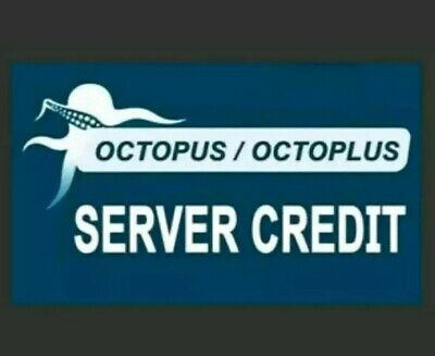 Octopus, Octoplus Server Credit  (100 Pack)  { Fast Delivery }