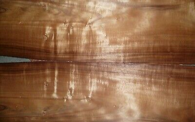 "koa wood veneer 1/42"" thick 14"" wide 45"" long"