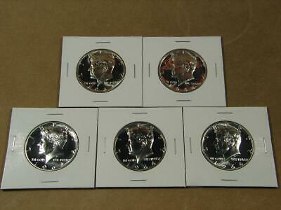 1964 Kennedy Half Dollar Silver Proof Coin Lot Of 5