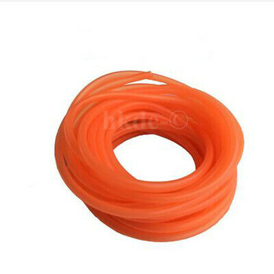 ID 2-6mm Silicon/Silicone Vacuum Hose Tubing Food Grade Tube Fish Car Air Orange