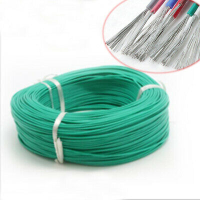 Silicone Cable Flexible Wire 30/28/26/24/22/20/18/16AWG UL3239 Green 1m 5m Meter