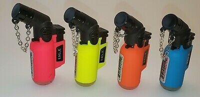 Eagle Torch Angle Single Torch Neon Limited Edition Butane Lighter Key Chain