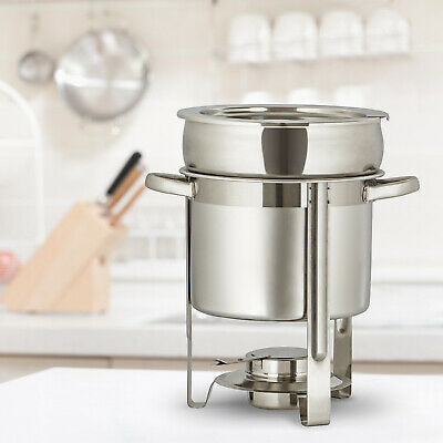 1 PCS Catering Classic Stainless Steel Chafer Chafing Dish Set 7L /7.4 QT Silver