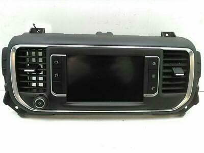 MULTIFUNCTION DISPLAY Peugeot Traveller 2016 On Clock Screen Pt No. 9813041280