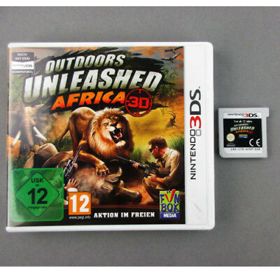 Nintendo 3DS Spiel Outdoors Unleashed – Africa 3D in Ovp