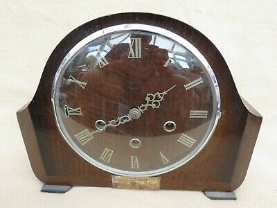 "Vintage Smiths ""Langley"" Westminster Chime Mantel Clock"