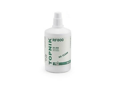 FLUX LIQUID RF800 NO CLEAN 100ml. DOES NOT RELEASE OXIDE NO CLEANUP