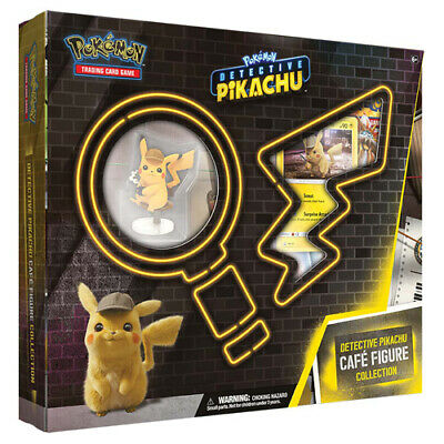 Pokemon TCG: Detective Pikachu Cafe Figure Collection