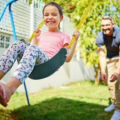 Outdoor Heavy Duty Swing Seat Set Kids Play Hanging Replacement w/60 INCH Chains