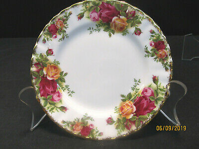 """Royal Albert  """"Old Country Roses""""  Five Bread Plates  Circa 1962  Barely Used"""