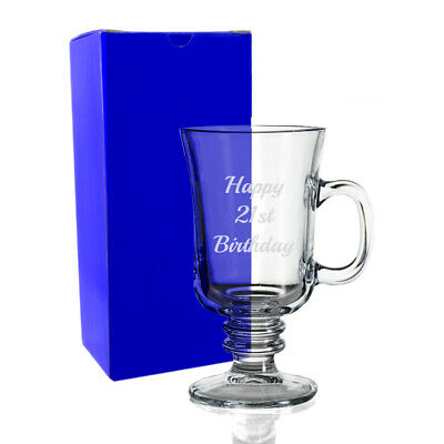 Engraved Christmas Gift Personalised Mulled Wine Hot Toddy Tottie Glass Mug