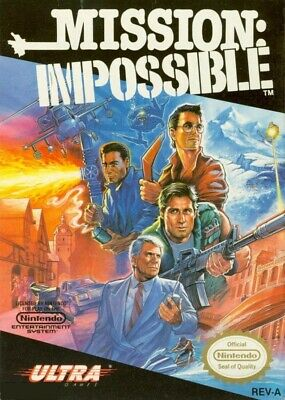 Mission Impossible Nes Nintendo Game