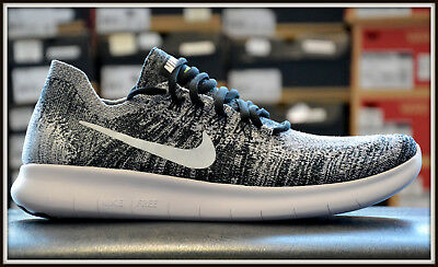 NIKE FREE RUN Flyknit Chaussures Homme Baskets Femme Chaussures de Course Blanc