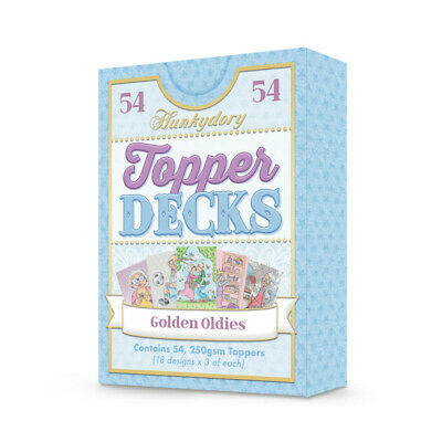Hunkydory Golden Oldies Topper Deck  54pk