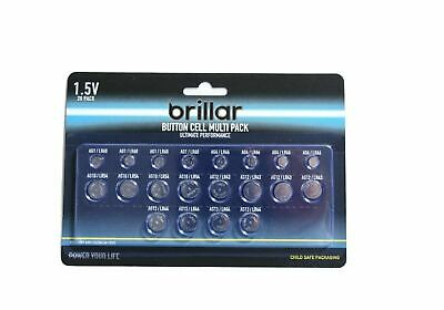 Mixed LITHIUM Button Cell Batteries AG1/4/10/12/13 LR60/66/54/43/44 Watch