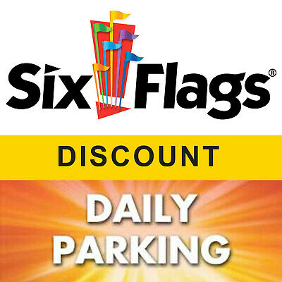$43.99 Off Discount for Six Flags America Tickets and Parking Pass