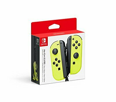 Nintendo Switch Joy-Con L R Neon Yellow - Left and Right Edition
