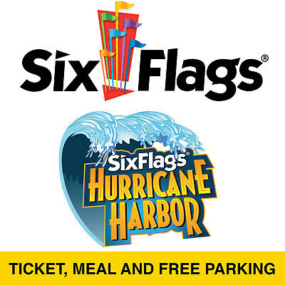 Discount Save $60.00 Six Flags New England Tickets Free Parking & Meal July 1-31
