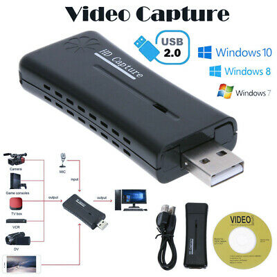 Dual USB port HDMI Video Capture Card USB 2.0 720p HD Recorder for Game/Video